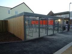 Eastbourne Cycles Enclosure (80 Bike Parking Spaces)