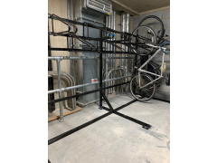 Free Standing Wall Dock, single and double sided - Price per bike