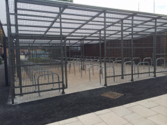 The Gull Wing Security Enclosure