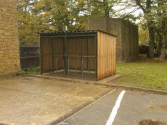 Recycle Shelter 10 Bike Shed