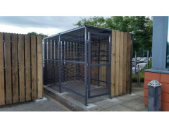 Extended Front Wall Dock Shelter
